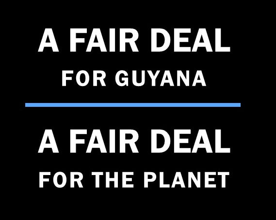 A Fair Deal for Guyana – A Fair Deal for the Planet
